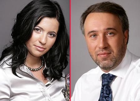 Дмитрий Чернявский и Екатерина Боголюбова